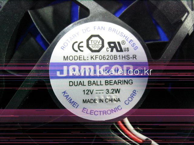 [ANY Vendor]FAN KF0620B1HS-R /60*60*20mm 12V