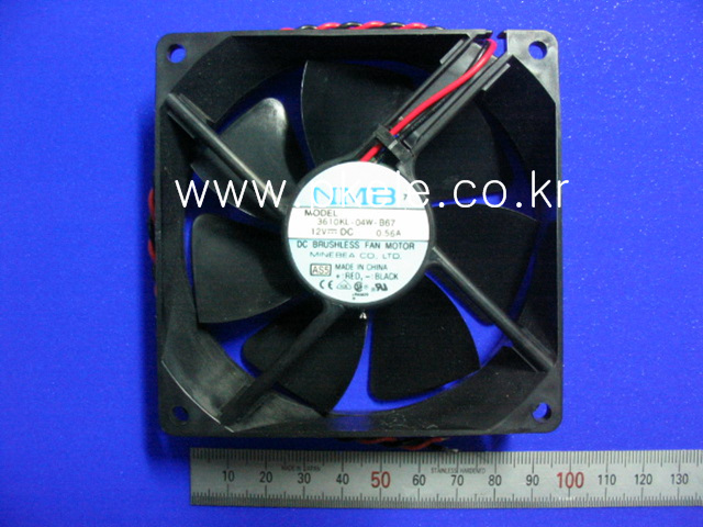 [ANY Vendor]FAN 3610KL-04W-B67 12VOLT